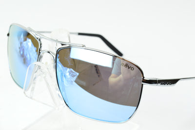 Revo Ground Speed Chrome Polarized Blue Water RE3089 04  Sunglasses Display Model