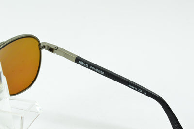 Revo Raconteur Gunmetal Polarized Green RE1011 00 GN  Sunglasses Display Model