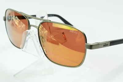 Revo Freeman Gunmetal Open Road RE1012 00 OR  Sunglasses Display Model