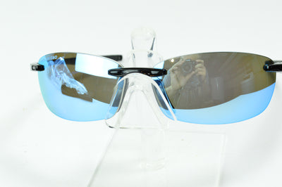 Revo Descend Black Blue Water RE4060 03  Sunglasses Display Model