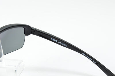 Revo Crux N Matte Black Graphite Polarized RE4066 03 Sunglasses Display Model