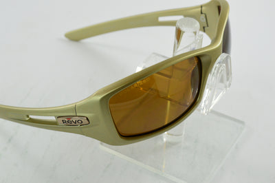 Revo Red Point Platinum Bronze Polarized Sunglasses RE4039 06 Display Model