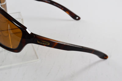 Revo Gust X Tortoise Brown Polarized Sunglasses RE 4072X 02 BR Display Model