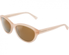 Vuarnet Cateye Pink Cream Brown Lens Sunglasses VL1203 0001 2121