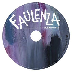 181029_Faulenza Wunderwesen CD label
