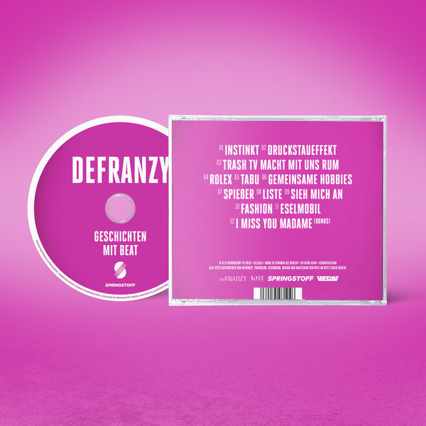 Defranzy Back cd