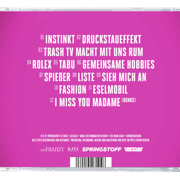 back CD defranzy