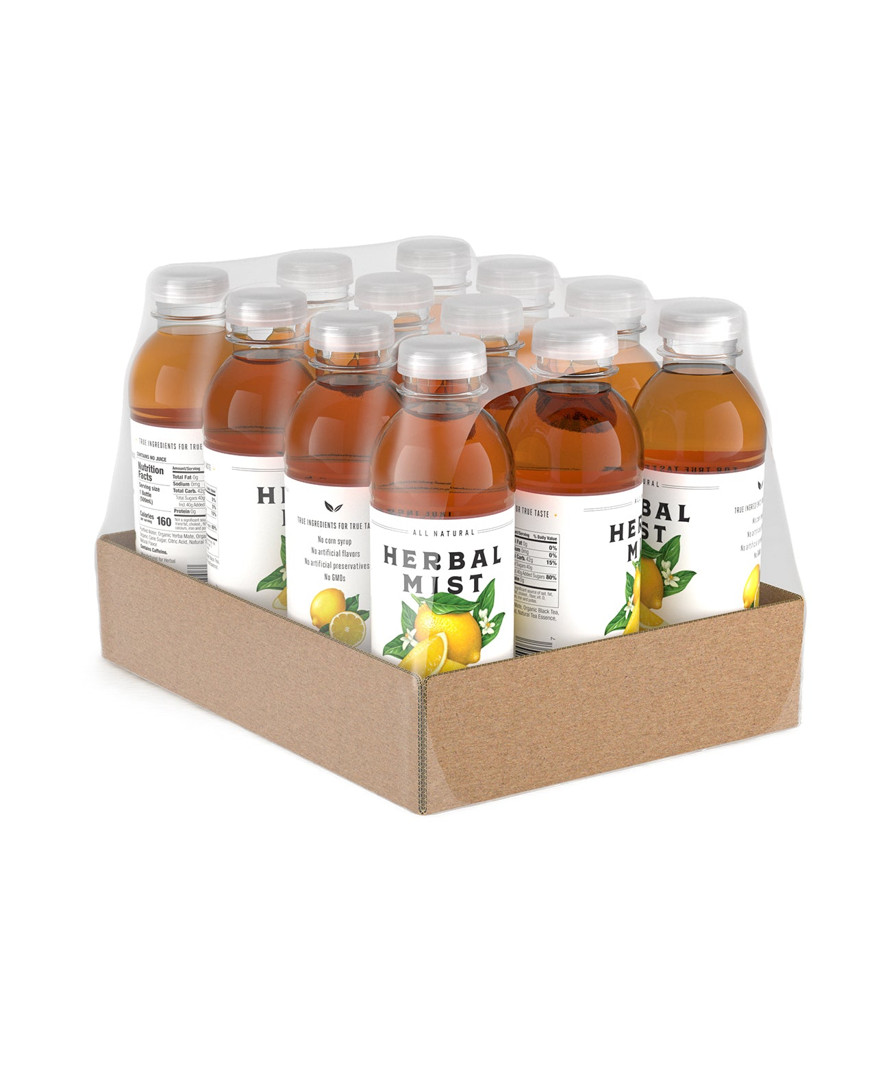 Lemon Black Tea & Yerba Mate (12-Pack)
