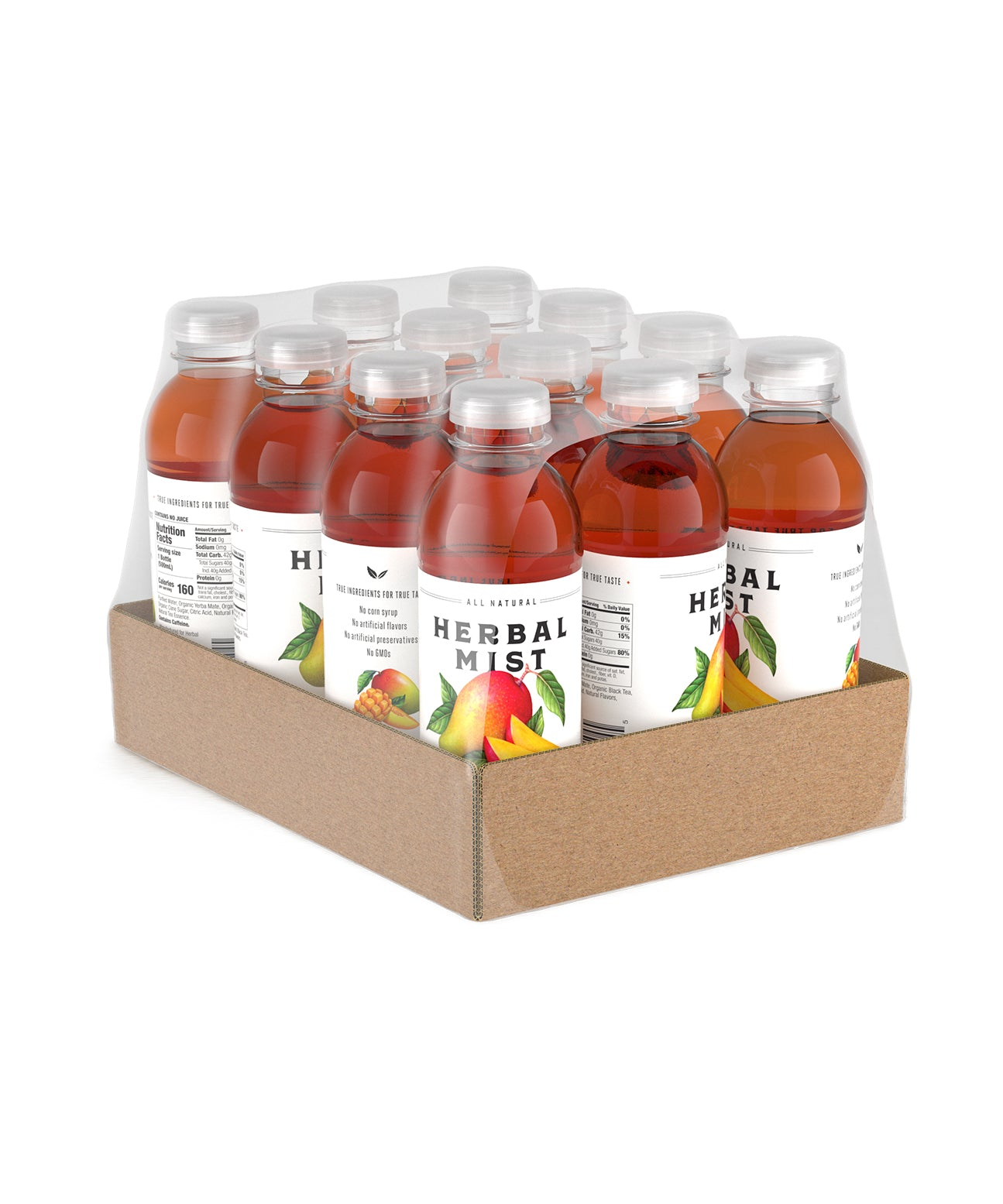 Mango Black Tea & Yerba Mate (12-Pack)