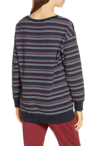 Joe's Jeans Relaxed Wide Neck Sweatshirt Size M (NWT)