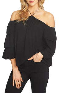 1.State Cold Shoulder Blouse Size S (NWT)