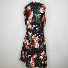 Load image into Gallery viewer, Chelsea28 Floral Lace Fit & Flare Dress in Black Foxie Floral Size M (NWT)