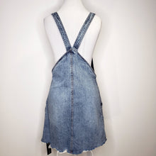 Load image into Gallery viewer, BLANKNYC Blow The Bag Denim Overall Dress Size 26 (NWT)