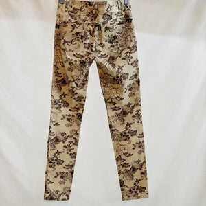 Wit & Wisdom (Nordstrom Brand) Floral Print Jeans Size 0
