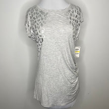 Load image into Gallery viewer, INC International Concepts Foil Animal Print T-Shirt Size M (NWT)