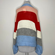 Load image into Gallery viewer, Elodie Heavyweight Knitted Stripe Sweater (NWT)