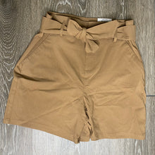 Load image into Gallery viewer, INC International Concepts Paperbag High Rise Belted Shorts Size 2 (NWT)
