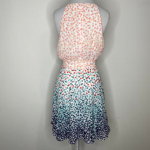 Maison Jules Fit & Flare Dress in Party Dots Size 12 (NWT)