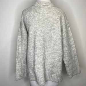 Topshop Super Soft Deep Hem Crewneck Sweater Size 2