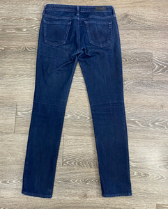AG The Slit Cigarette Jeans Size 26