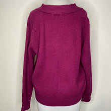 Load image into Gallery viewer, Frnch Paris Sweater Magenta Size S/M (NWT)