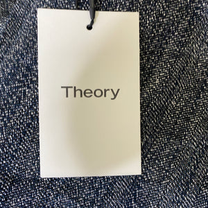 Theory High-Waisted Straight Pant Size 4 (NWT)