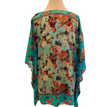 Load image into Gallery viewer, Tolani Printed V-Neck Woven Caftan Size S