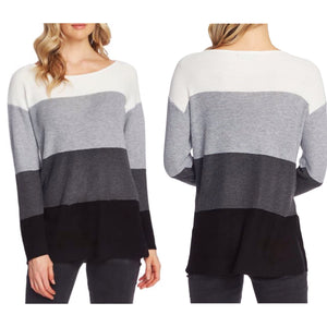 Vince Camuto Colorblock Pocket Sweater Size M