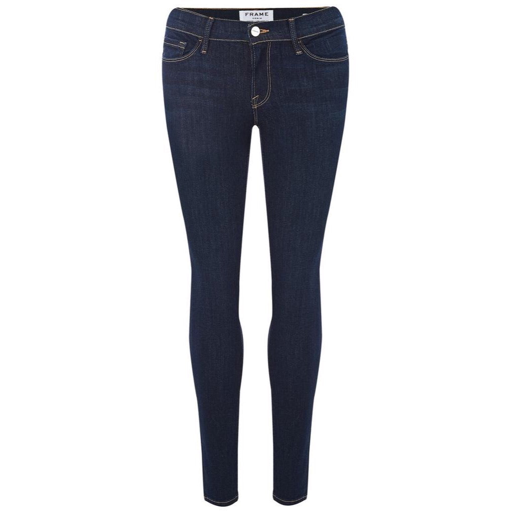 FRAME Le Skinny de Jeanne Mid-Rise (Grove Street) Jeans Size 24