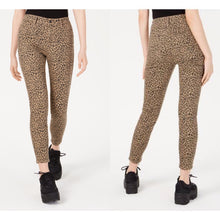 Load image into Gallery viewer, VANILLA STAR Womens Beige Animal Print Jeans Size 24 (NWT)