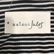 Load image into Gallery viewer, Maison Jules Striped Halter Dress Size XXS (NWT)