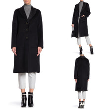 Load image into Gallery viewer, Tahari Jenna Two Tone Wool Blend Coat Size S (NWT)