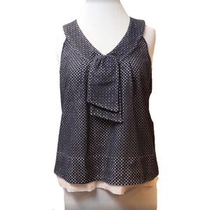 Marc by Marc Jacobs Eyelet Top with Bow Size XS