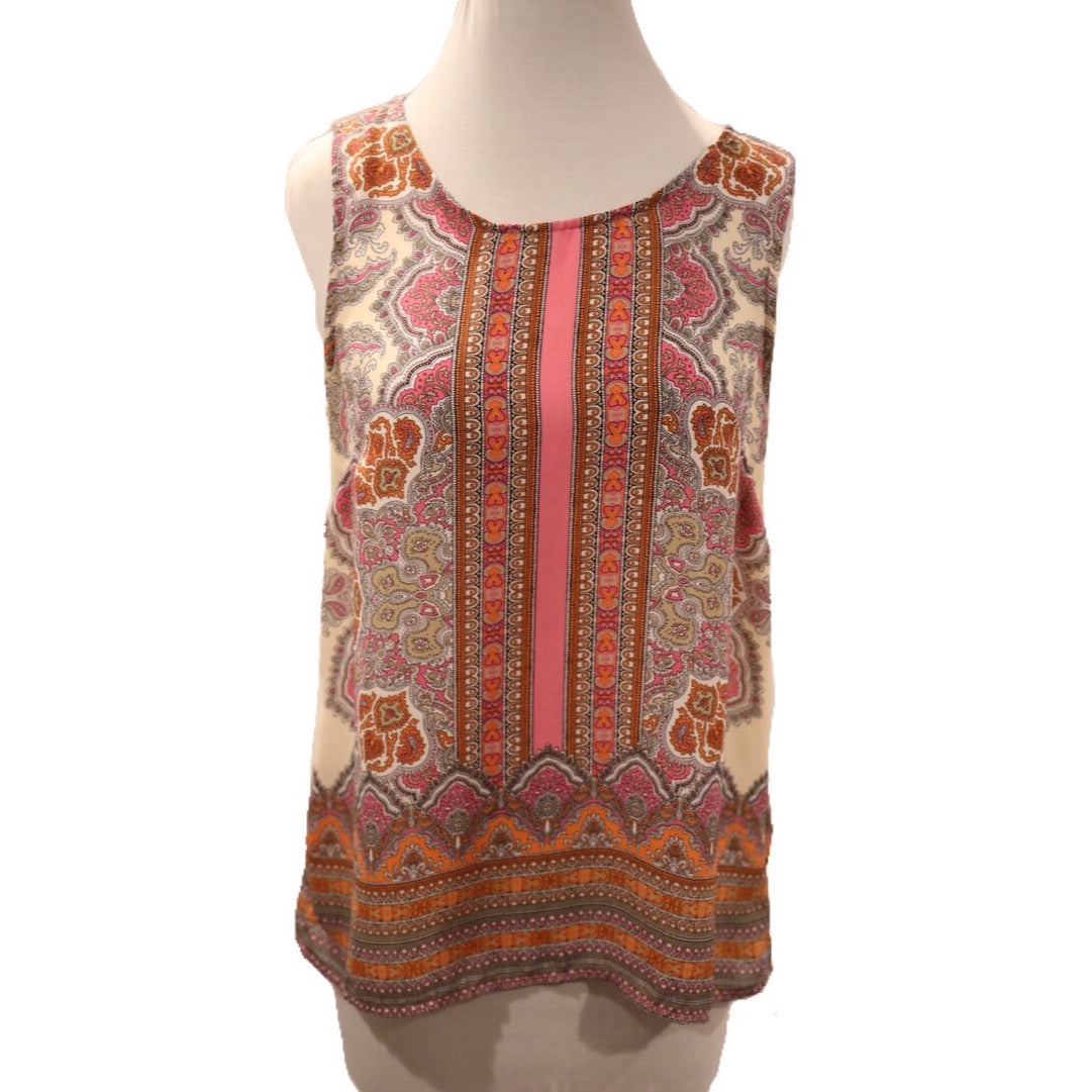 Cynthia Rowley Sleeveless Top Size S