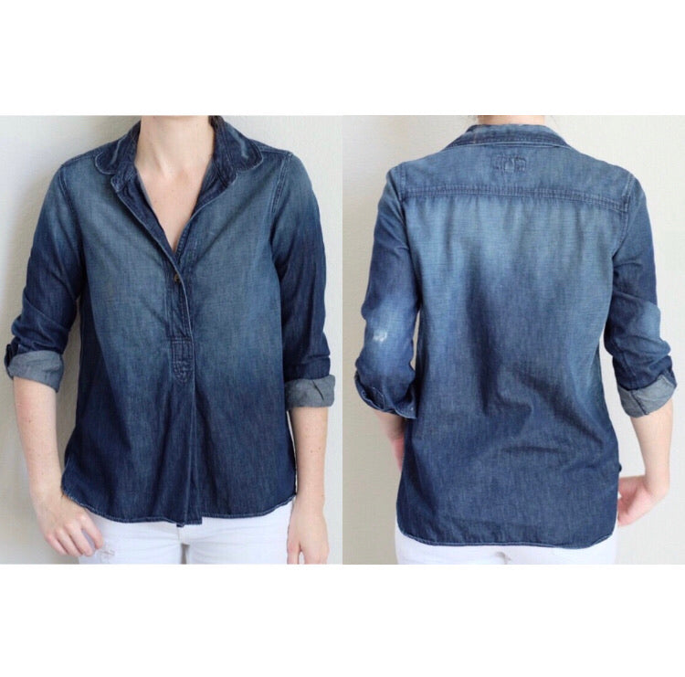 Current/Elliot Denim Tunic Size 1 = Size S