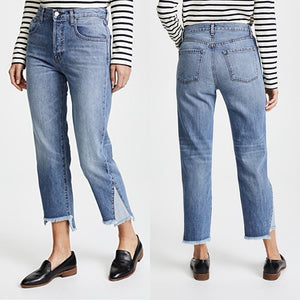 J Brand Wynne Crop Straight Jeans in Hydra Size 26