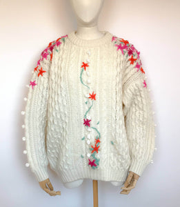 Embroidered Knits
