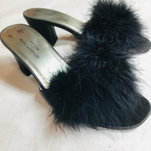 Frou Frou Feather Mules