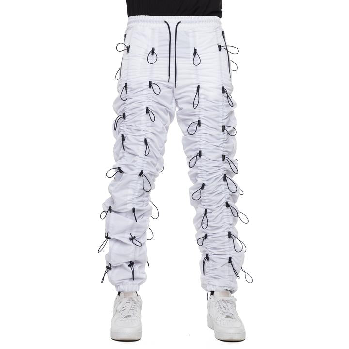 EPTM Accordion Pants (White/Black)