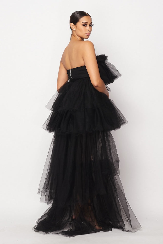 Hot & Delicious Princess Tulle Dress (Black)