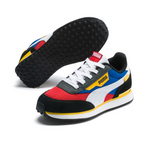 PUMA Rider Play On (PS) (RIBBON RED-PUMA ROYAL-PUMA WHITE) 372351 05