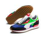 PUMA Rider Play On (PUMA BLACK-FLUO GREEN-DAZZLING BLUE) 371149 01