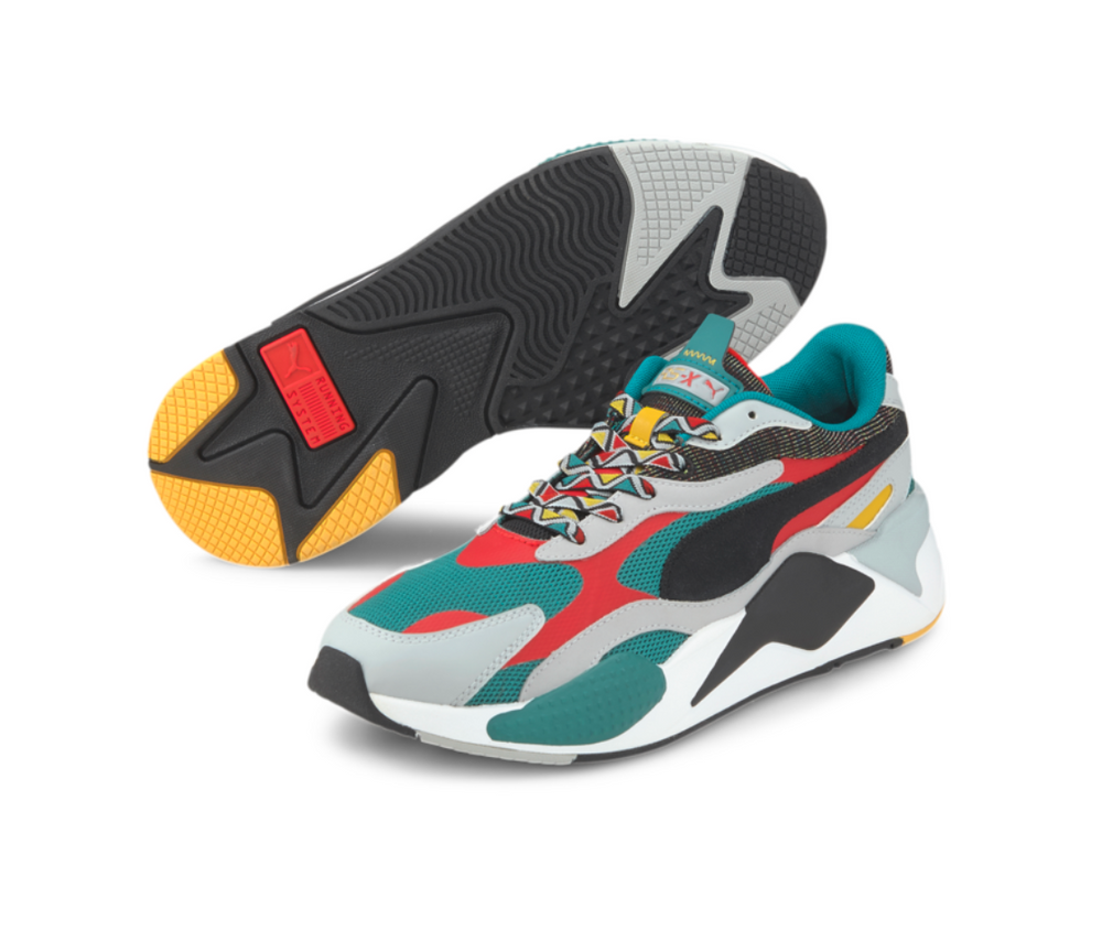 Puma RS-X Mix (TEAL GREEN-PUMA BLACK) 373183 02