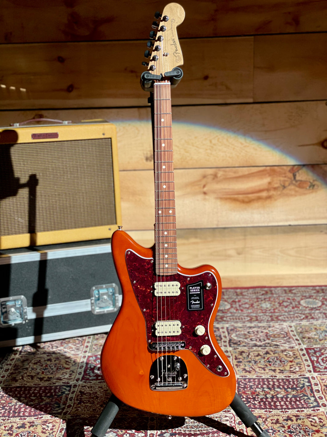 Fender Player Series Jazzmaster, Limited Edition Aged Natural