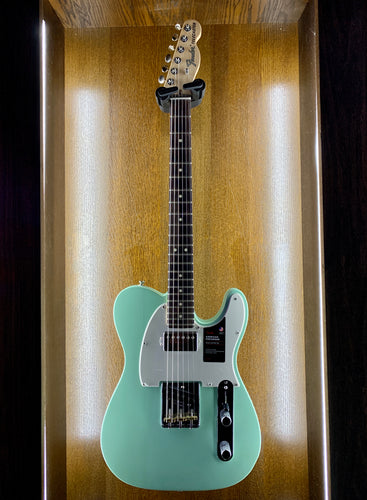 American Performer Telecaster with Humbucking, Rosewood Fingerboard, Satin Surf Green