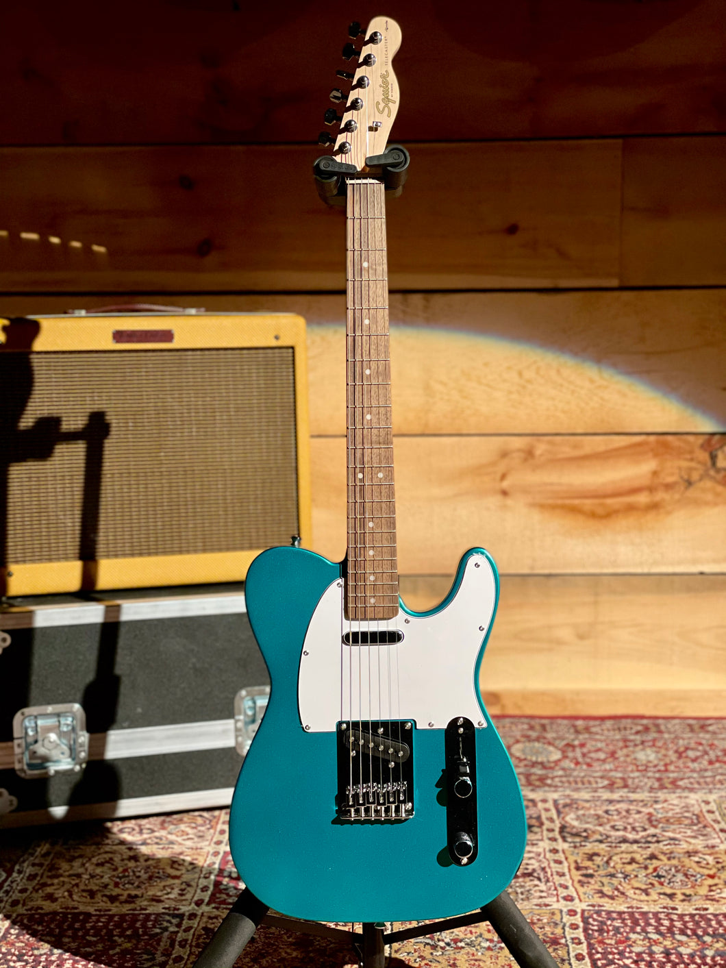 Squier Affinity Series Telecaster, Laurel Fingerboard, Race Green