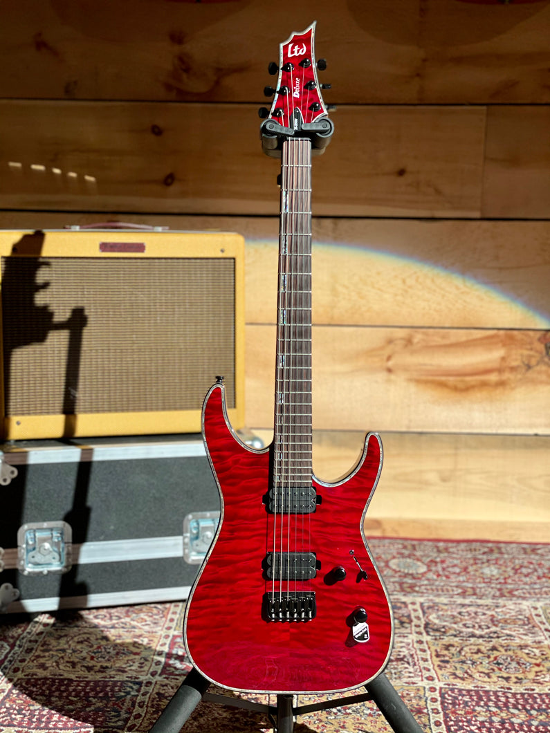 LTD Deluxe See-Thru Black Cherry