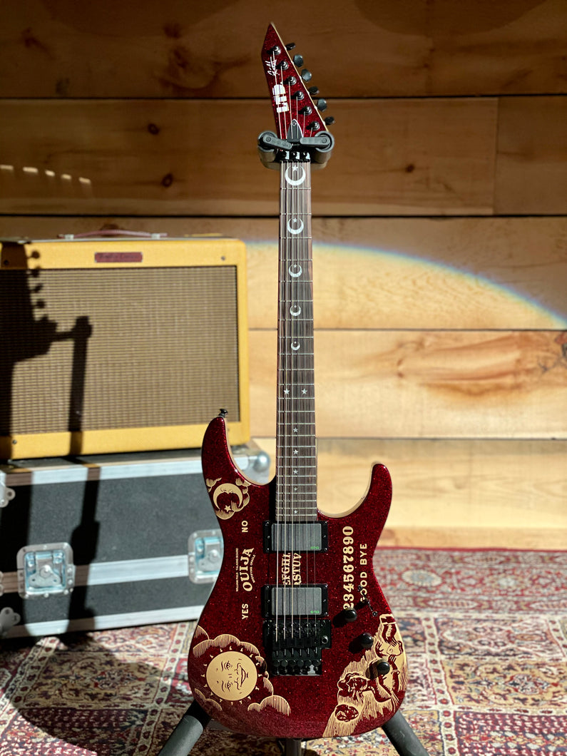LTD Kirk Hammet Ouija Red Sparkle Limited Edition
