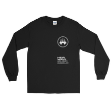 Load image into Gallery viewer, HWMG Stacked Long Sleeve Shirt Black