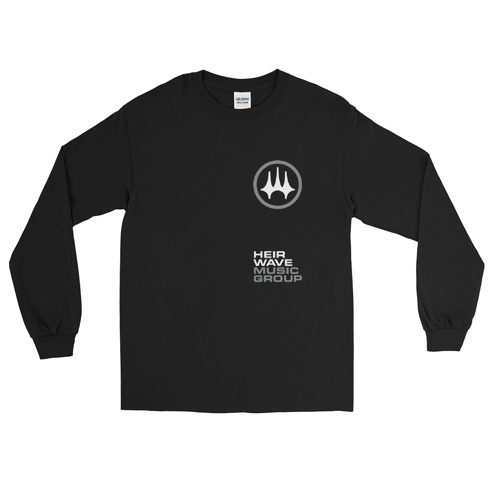 HWMG Stacked Long Sleeve Shirt Black